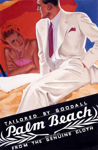 Palm Beach Tailoring - Poster