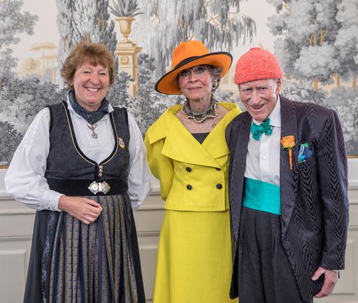 Olav Thon og Sissel Berdal Haga Thon giftet seg på hotel Bristol