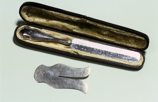 Circumcision set, late 19th century