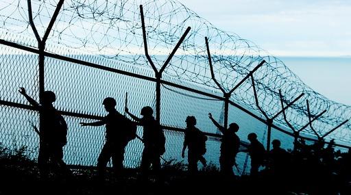 South Korean troops patrol amid lowered military alert