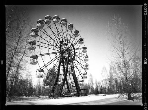Pripyat after the Chernobyl Disaster