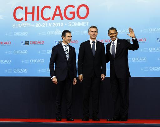 Anders Fogh Rasmussen, Barack Obama, Jens Stoltenberg