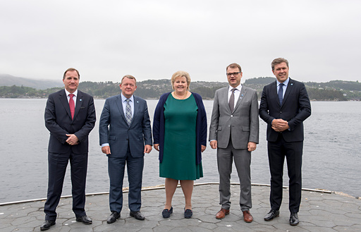 Nordisk statsministermøte.
