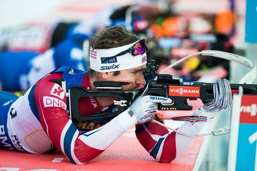 Stafett 4 x 7,5 km skiskyting menn