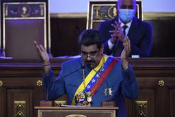 Venezuelas president Nicolás Maduro håper forholdet til USA bedres. Foto: Matias Delacroix / AP / NTB