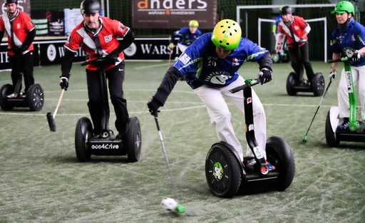 First Segway polo tournament in northern Germany