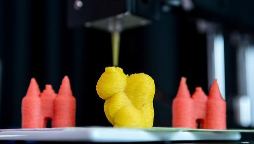 3D food printer presented in Luebeck