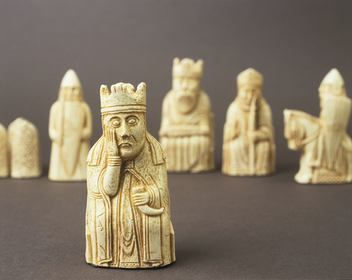 Schachfiguren 'Isle of Lewis Chessmen' - Isle of Lewis Chessmen / C12th - Jeux / Jeux de damier / Échecs :
