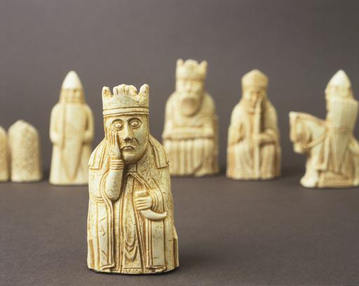 Schachfiguren 'Isle of Lewis Chessmen' - Isle of Lewis Chessmen / C12th - Jeux / Jeux de damier / Échecs :