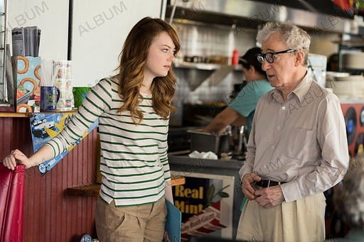 IRRATIONAL MAN (2015), directed by WOODY ALLEN. WOODY ALLEN; EMMA STONE.