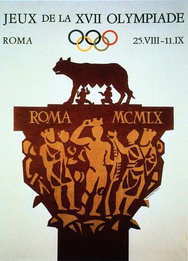 Olympiade Rom 1960 / Plakat - Olympics, Rome 1960 / Poster -