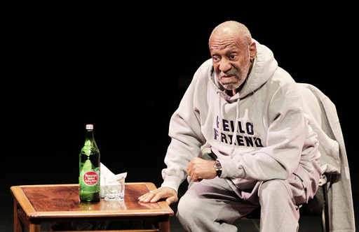 Comedian Bill Cosby performs at The Temple Buell Theatre in Denver