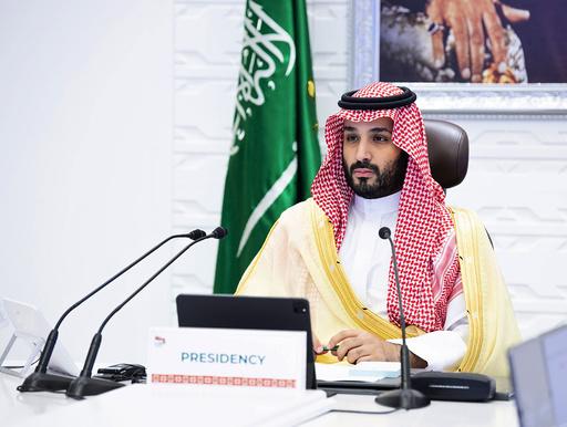Saudi-Arabias kronprins Mohammed bin Salman får av en amerikansk etterretningsrapport skylden for drapet på journalisten Jamal Khashoggi i Istanbul i 2018. Domstolen i Istanbul vil ikke inkludere rapporten som bevis i saken mot de tiltalte. Arkivfoto: Bandar Aljaloud / Saudi-Arabias Royal Palace / AP / NTB