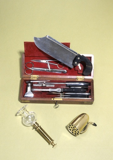Post mortem instruments, 19th century