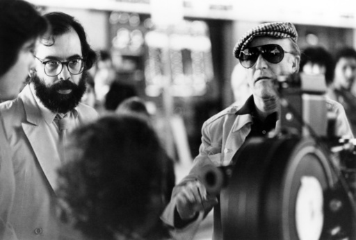 ONE FROM THE HEART, director Francis Ford Coppola (left), on set,  1982. © Columbia/courtesy Everett