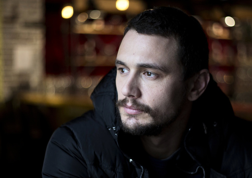 Actor James Franco poses at the Sundance Film Festival in Park City