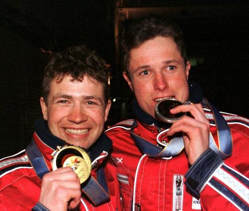 OL-Nagano - Medaljeutdeling