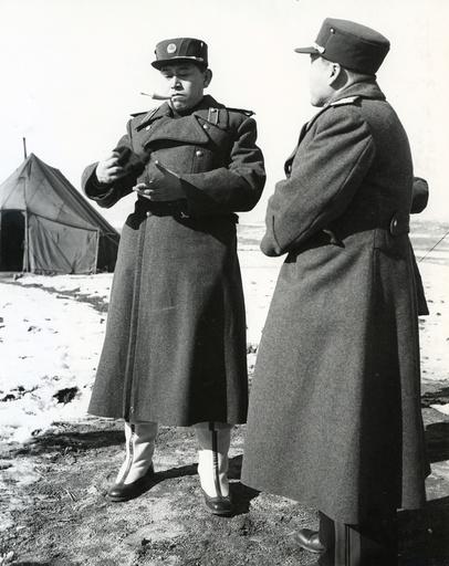General Nam Il in Panmunjon, Koreakrieg / Foto 1951 - -