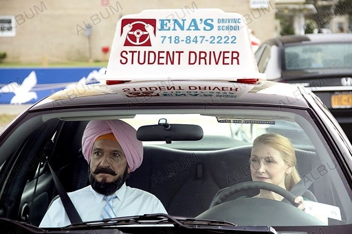 LEARNING TO DRIVE (2014), directed by ISABEL COIXET. PATRICIA CLARKSON; BEN KINGSLEY.