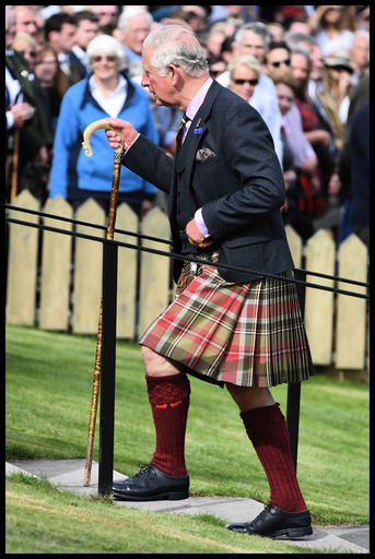 The Queen attends the Braemar Gathering