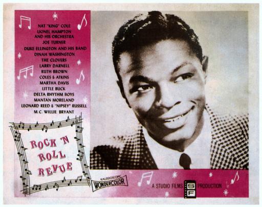 ROCK 'N' ROLL REVUE, Nat 'King' Cole, 1955