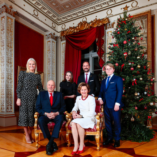 Julefotografering på Slottet 2019.