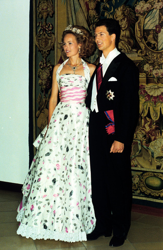 Liechtenstein's heir to the throne marries the Duchesse Sophie in Bavaria - reception before the wedding