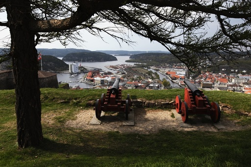 Fredriksten Festning, Halden, Østfold. Festninger, militære, krig, historie.