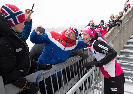 Langrenn 30 km fellesstart kvinner.