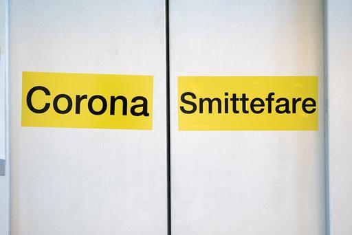 En smitteheis ved infeksjonsmedisinsk seksjon ved Bærum sykehus fotografert tidligere i sommer. Foto: Stian Lysberg Solum / NTB scanpix