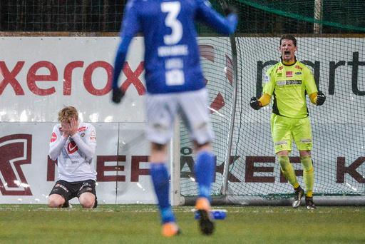 Kvalifiseringskamp til Eliteserien 2018. Ranheim - Sogndal 5-4