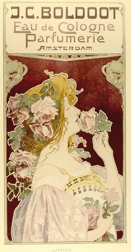 Poster design for Boldoot Eau de Cologne Parfumerie