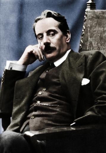 Giacomo Puccini (1858-1924), Italian composer, 1910. Artist: Unknown.