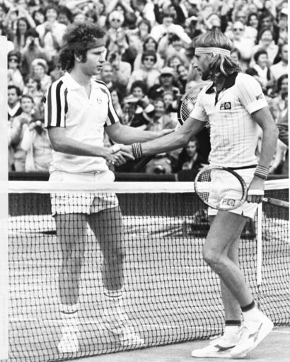 Björn Borg vinner Wimbledon över Johan McEnroe 1980