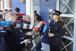 Politiadvokat Ann Iren Svane Mathiassen sier det ikke er noen grunn til å tro at drapene på Kongsberg onsdag var planlagt. Foto: Terje Bendiksby / NTB
