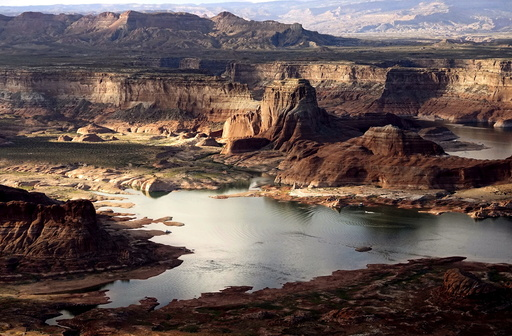 Wider Image: Earthprints: Lake Powell