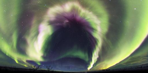 Aurora borealis, Sweden