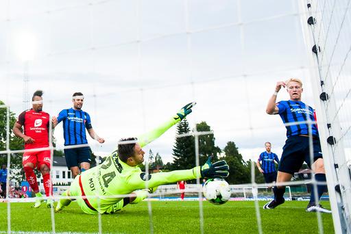 Eliteserien fotball 2017: Stabæk - Brann.
