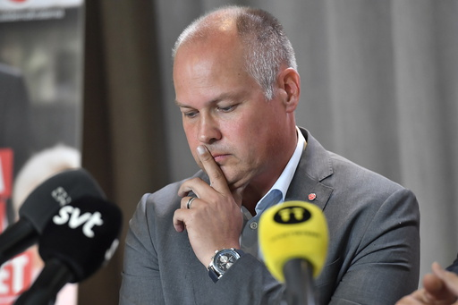 Sveriges justisminister Morgan Johansson avbildet ved en tidligere anledning. Foto: Jonas Ekströmer / TT / NTB scanpix