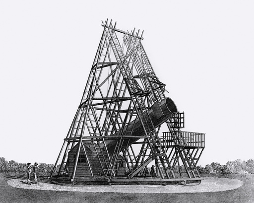 Herschel's 40-foot telescope