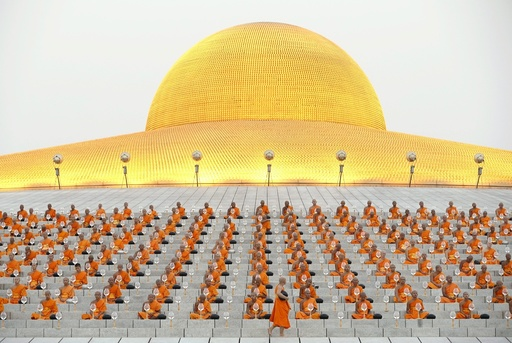Religious ceremonies to mark the Makha Bucha Day