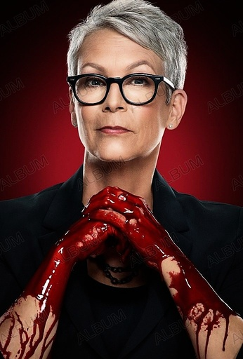SCREAM QUEENS (2015), directed by RYAN MURPHY. JAMIE LEE CURTIS.