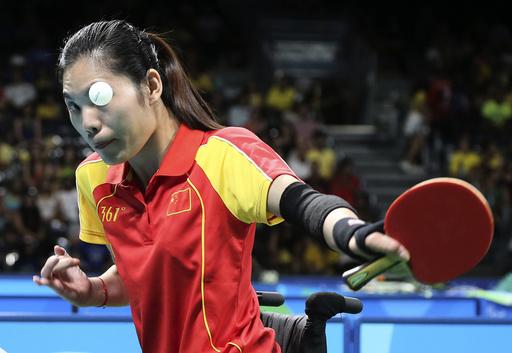 Table Tennis - Final - Women's Singles Class 1-2 Gold Medal Final