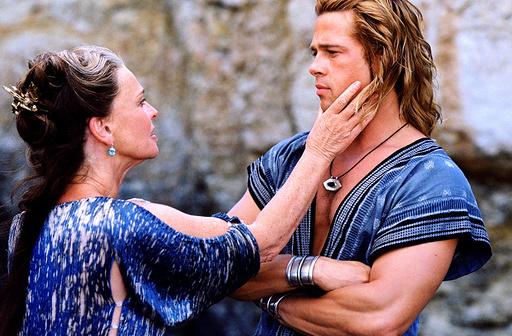 TROY, Julie Christie, Brad Pitt, 2004, (c) Warner Brothers/courtesy Everett Collection