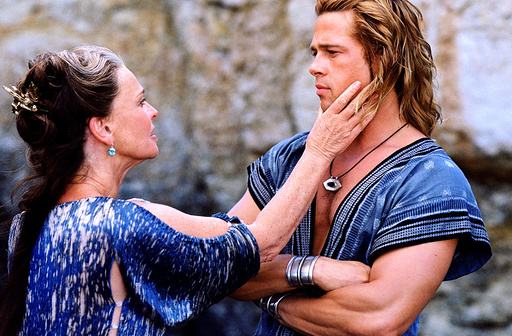 TROY, Julie Christie, Brad Pitt, 2004, (c) Warner Brothers/courtesy Everett Collection