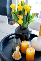 Når blomsterbutikkene åpner igjen i Oslo, vil det være mulig å kjøpe påsketulipaner. Illustrasjonsfoto: Gorm Kallestad / NTB