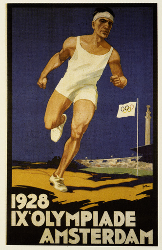 Olympiade 1928, Amsterdam / Plakat - Summer Olympics 1928, Amsterdam / Poster -