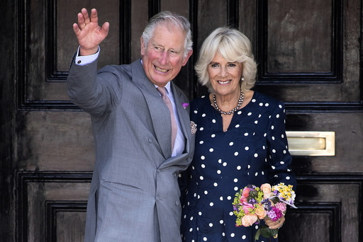 Prince Charles and Duchess of Cornwall visit Salisbury