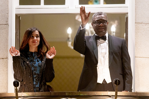 Nobels fredspris 2018 til Denis Mukwege og Nadia Murad
