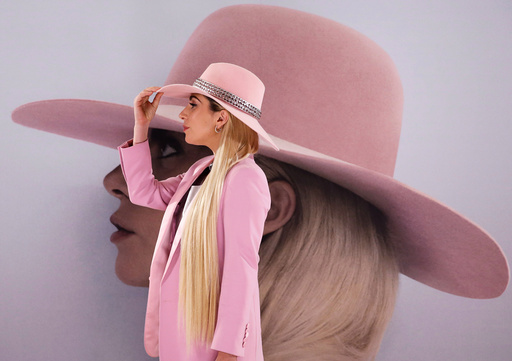 Singer Lady Gaga poses for photographers during a photo call to promote her new album 'Joanne' in Tokyo